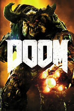 Poster DOOM 4 (2016) - Key Art Cyber Demon (Game) ca60x90cm NEU 58802