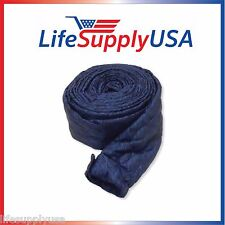 30 FT PADDED QUILTED BEAM ZIPPER CENTRAL VACUUM HOSE COVER HOSE SOCK 30 FEET