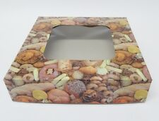 Cake Cookie Bread Boxes  9 inch x 9 inch x 2 inch.  Bread Design  Pack in 10's