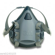 3M 7500 Series Silicone Half Mask Respirator 7503 Large with 2138 & 6038 Filters