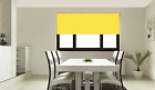 Made to Measure Blinds - Yellow Roller Blind