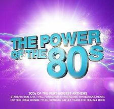 The Power of The 80s (2016 Music CD Compilation Free UK P&P)