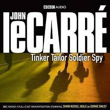 TINKER TAILOR SOLDIER SPY - JOHN LE CARRE - 3 CD BBC AUDIO BOOK NEW/UNSEALED