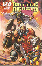 Battle Beasts Ashcan Promo   IDW