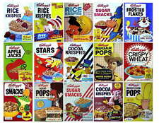 15 VINTAGE KELLOGGS CEREAL PHOTO-FRIDGE MAGNETS set 4