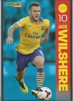 MOTD-POSTER 2013/14-ARSENAL & ENGLAND-JACK WILTSHIRE