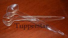 Tupperware Diamant Salatbesteck Transparent