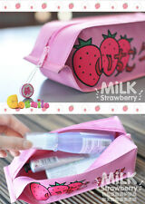 GINTAMA Soul Sliver Sakata Gintoki Ichigo Milk Strawberry Pen Bag Yorozuya Sa