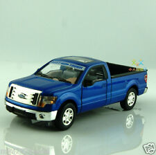 Ford F-150 Ranger 1:32 pickup Car Model Alloy Diecast Toys Gift Sound&Light Blue