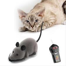 Animaux Télécommande sans Câbles Rat Toy dépla?ant la souris pour jouer Cat C AC