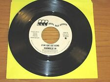 """PROMO SOUL 45 RPM - FORMULA IV - ROCKY ROAD 30078 - """"IF WE CAN'T GET ALONG"""""""