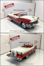 Danbury Mint 1956 FORD SUNLINER CONVERTIBLE- NMIB! SUPER SLEEPER! EXCEPTIONAL!