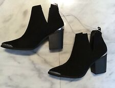 Mossimo Black Western Cut Out Ankle Boot Booties Women's Size 8 NEW