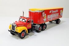 Matchbox McDonald's 1955 Mack B-61 Tractor Trailer Diecast Model MIB