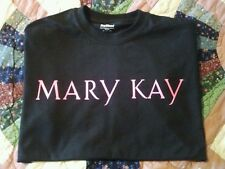 New Mary Kay Hot Pink On Black T-Shirt 2X