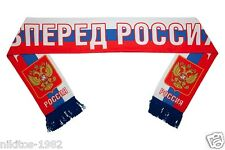 "Scarf double-sided ""Forward Russia"" with the Bear in colors of the Russian flag."