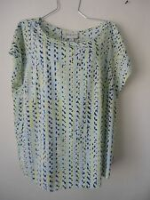 Womens Size 3X Top Blouse Shirt Short Sleeve