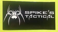 SPIKES TACTICAL SPIDER LOGO VINYL DECAL GUN STICKER