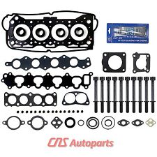 92-01 1.6L SUZUKI SIDEKICK X90 ESTEEM GEO TRACKER 16V HEAD GASKET BOLTS KIT
