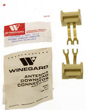Winegard 300 Ohm Antenna Downlead to Terminal Block Screw Connector PAIR SP-12