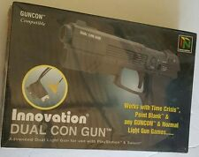 NEW Sealed Dual Con Lightgun for Sega Saturn or Playstation 1 Light Gun Guncon