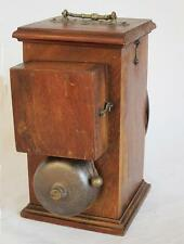 Fine vintage serviteur butler acajou bell box & push switch 1900 downton abbey b