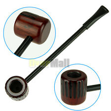 New Vintage Enchase Wooden Smoking Pipe Tobacco Cigarettes Cigar Pipes Durable