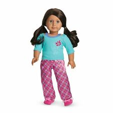 American Girl Doll Truly Me Petals & Plaid PJ Set Doll Clothes For 18 in Dolls