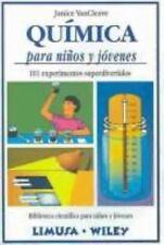 Quimica Para Ninos y Jovenes - 101 Experimentos (Biblioteca Cientifica-ExLibrary