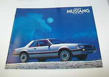 FORD MUSTANG 1979 SALES CATALOGUE. USA. JULY 1978 2 DOOR 3 DOOR GHIA COBRA