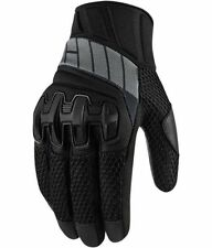 NEW ICON OVERLORD GLOVES STEALTH LARGE MOTORCYCLE STREET BIKE RIDING GLOVES