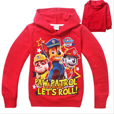 Trendy Kids Boys Toddlers Girls Paw Patrol Cotton Hoodie Baby Unisex Coat6-7T E6