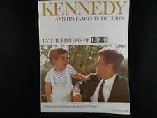 Vintage Look Magazine-1963-Kennedy and his family in pictures,Exclusive pictures