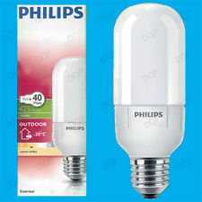 9W Philips CFL Walk In Freezer -20°C E27 Light Bulb, Fridge Cold Room ES Lamp