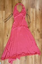 Gorgeous Lisa Ho Fushia Jersey Halter Neck Dress. Brand New. Size . RRP $599