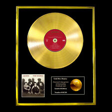 QUEEN THE WORKS  CD  GOLD DISC FREE P+P!!