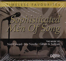 Sophisticated Men Of Song - CD - (3CD) Readers Digest Brand New Sealed)