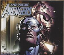 THE NEW AVENGERS #6 Spider-Man Captain America from June 2005 in Fine+ con. DM
