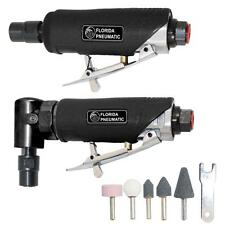 Florida Pneumatic 1/4 Inches Straight Right Angle Die Grinder Combo Kit Air Tool