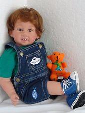 """Reborn 22"""" Toddler boy doll """"IGabriell"""" - Kinderland Faith Club Kid"""