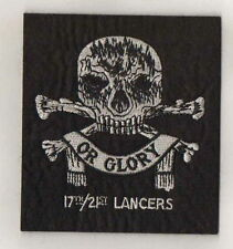 17th/21st Lancers blazer patch