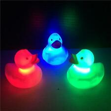 Waterproof Cute Color Change LED Duck Baby Kids Bath Mood Lamp Night Light PI2