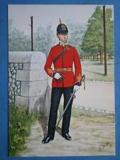 POSTCARD ESSEX FORTRESS ROYAL ENGINEERS 1912 - OFFICER