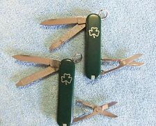 Victorinox Swiss Army Knives Classic Duo w/Shamrock, Great for St. Patrick's Day