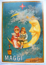CPM REPRODUCTION AFFICHE ANCIENNE / MAGGI