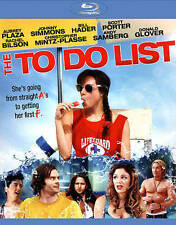 The To Do List (Blu-ray Disc, 2013, Includes Digital Copy; UltraViolet) - NEW!!