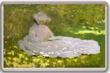 CLAUDE MONET - SPRINGTIME 1872 FRIDGE MAGNET IMAN NEVERA