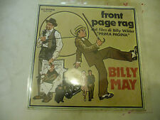 "BILLY MA""FRONT PAGE RAG-disco 45 giri MCA It 1975 ""O.S.T- RARE"