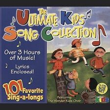 101 Favorite Sing-A-Longs: Ultimate Kids Song Various Artists Audio CD