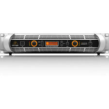 Behringer iNUKE NU6000DSP 2-Channel 6000W Stereo Power Amplifier w/ DSP USB
